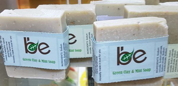 Green Clay and Mint Soap