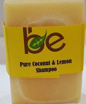 Pure Coconut and Lemon Shampoo Bar