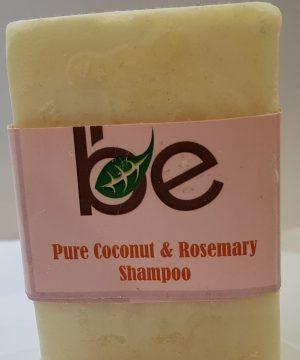 Pure Coconut and Rosemary Shampoo Bar