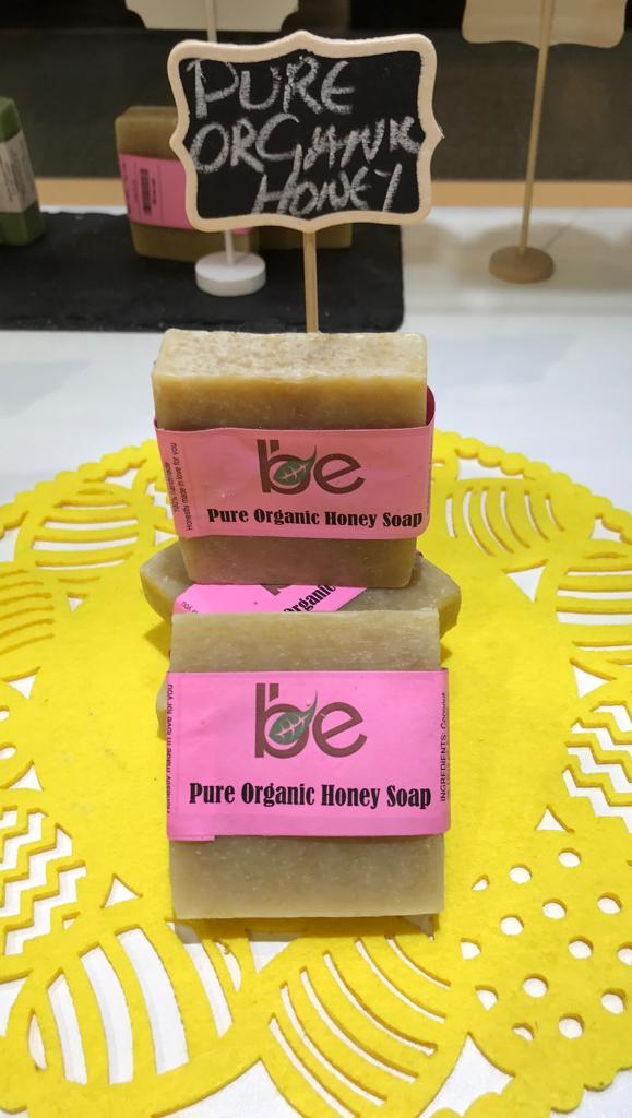 Pure Organic Honey Soap