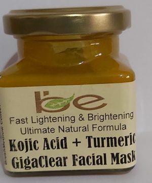 Kojic Acid and Turmeric Facial Mask
